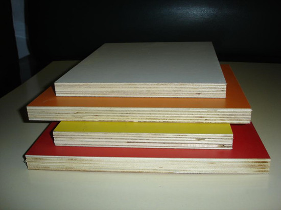 Color melamine marine plywood furniture grade melamine for Furniture grade plywood