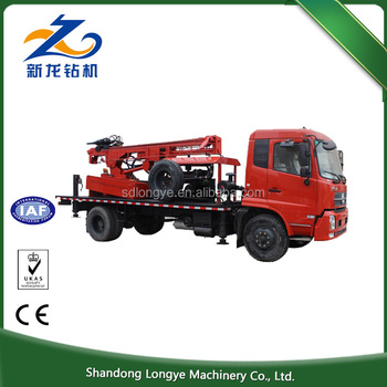 Hot selling SLY300 crawler type or truck mounted water well drilling rig
