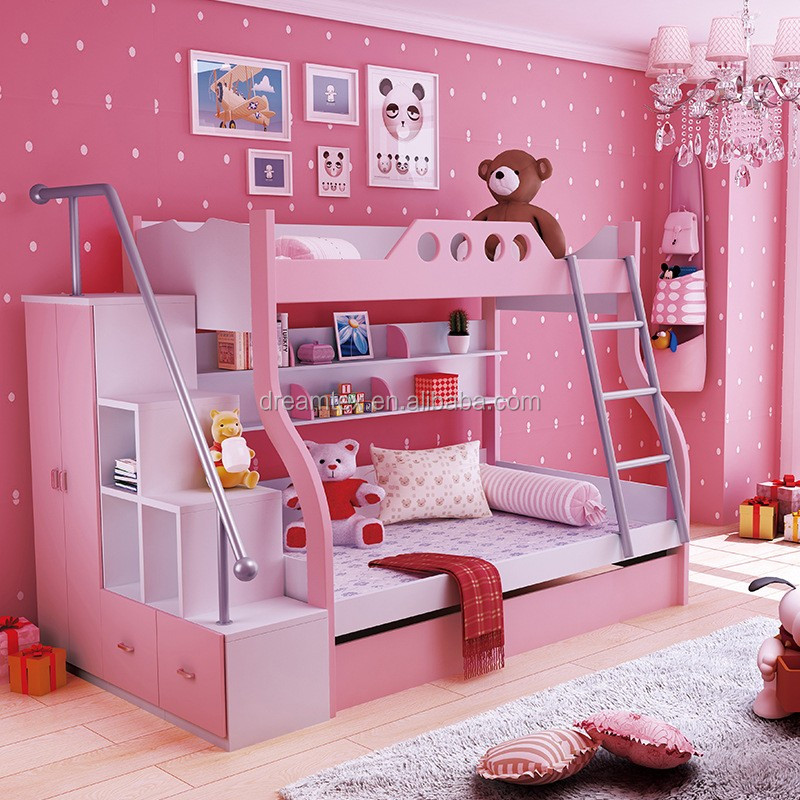 european style kids bunk bed for kid children bed wooden Pull Out Sofa Beds Cheap Pull Out Sofa Beds Cheap