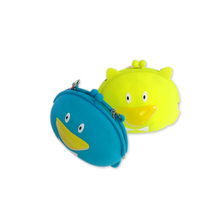 High quality Coin Purse,silicone money bag cute rubber wallet for kids