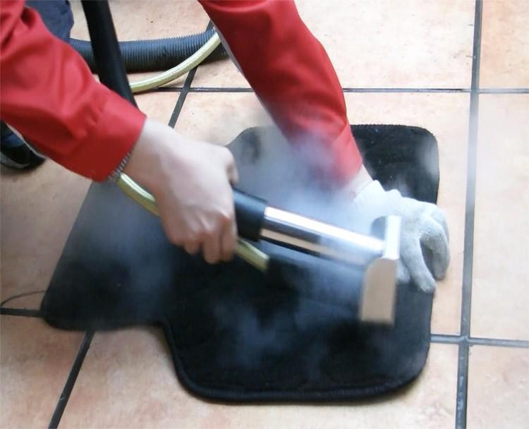 De vacío de vapor limpiador