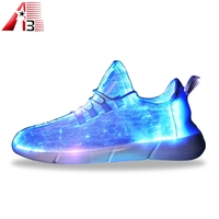 Wholesale china factory price customize led shoes adults 7 colors outdoor glowing lovers shoes