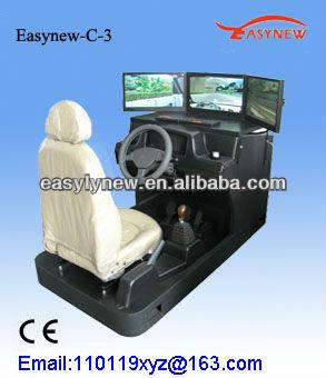 3d Auto Driving Simulator,Car Simulator With 3 Screens,Easy-c-3 - Buy  Driving Simulator,Car Driving Training Simulator,Car Simulator Machine  Product