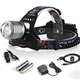 Most Powerful CREE LED Rechargeable Zoom Head Light to wear LED Head Torch Light