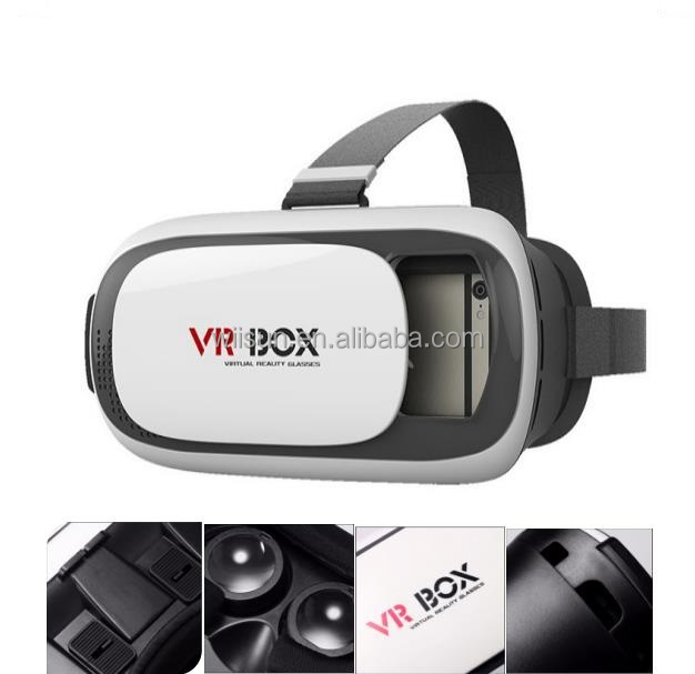 2016 Hot Sale 3D VR Glasses, Virtual Reality Glasses VR Box, Bluetooth Control 3D Glasses
