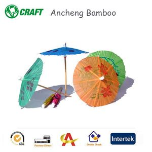 Gifts & Crafts Handmade Mini Cocktail Umbrella Picks Drink Umbrella For Party