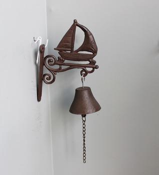 Cast Iron Sailing Shaped Antique Door Bells For Garden Decor   Buy Antique  Door Bells,Cast Iron Hanging Door Bell,Hanging Bells For Doors Product On  ...
