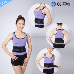 medical Lumbar traction belt / orthopedic lumbar back brace with low price