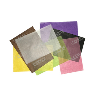 white and colored glassine paper for wrapping gold foil, gold leaf
