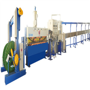 Electric wire and cable production line