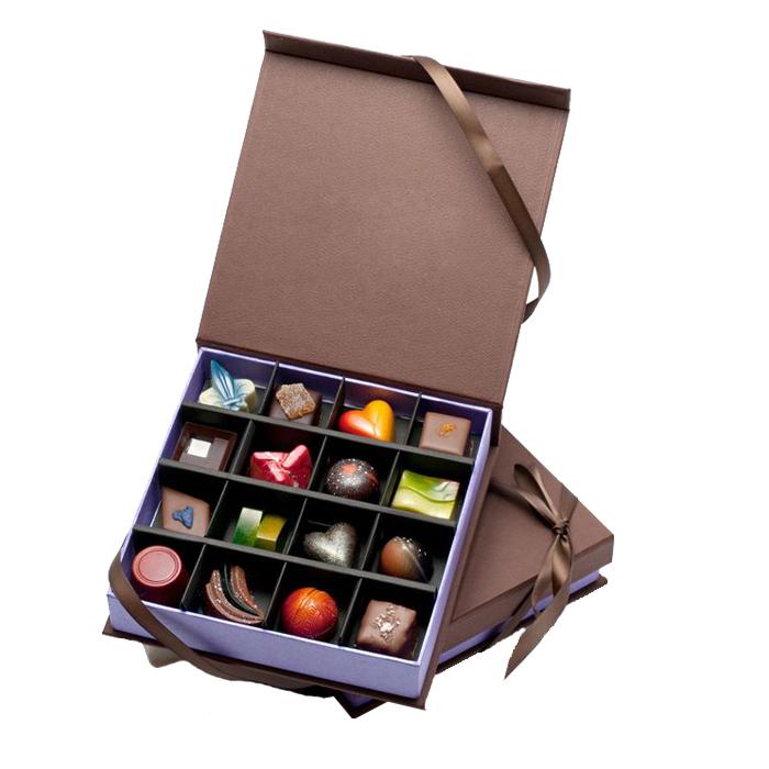 מותאם אישית יוקרה מיחזור אופנה שוקולד קוקי נייר אריזת מתנה אריזה