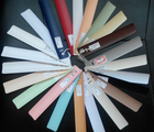 HOT sale pvc slat for windows /pvc curtain blinds