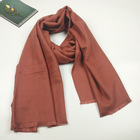Soild color promotion gift fashion comfortably warm scarf 100% viscose cheap plain scarf shawl