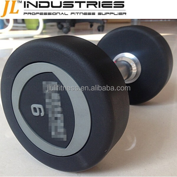 Deluxe Rubber Dumbbells for sell