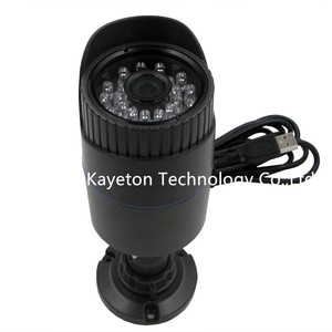 1.3MP HD 960P IR Cut IR Led Day Night Vision Webcam UTV OTG Aluminum Bullet Case Vandal-Proof Waterproof Outdoor USB Camera