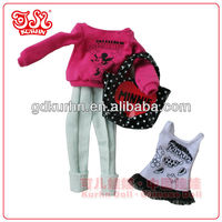 11.5 inch fashion doll clothing from branded toys