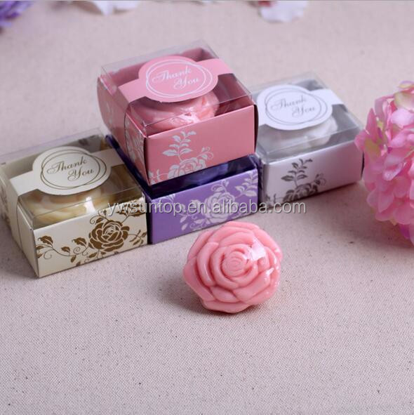cheap wedding favors Rose Shaped Scented Soap wedding soap favor