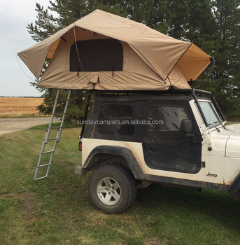 Camper Trailer With Roof Top Tent 4x4 Off Road Small Camping