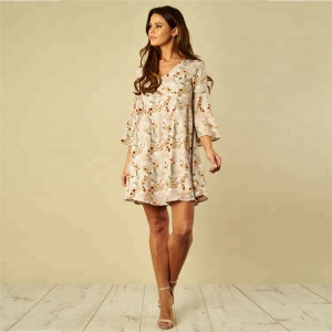 4886125215e Mature-Women-3-4-Sleeve-Floral-Swing.jpg_300x300.jpg