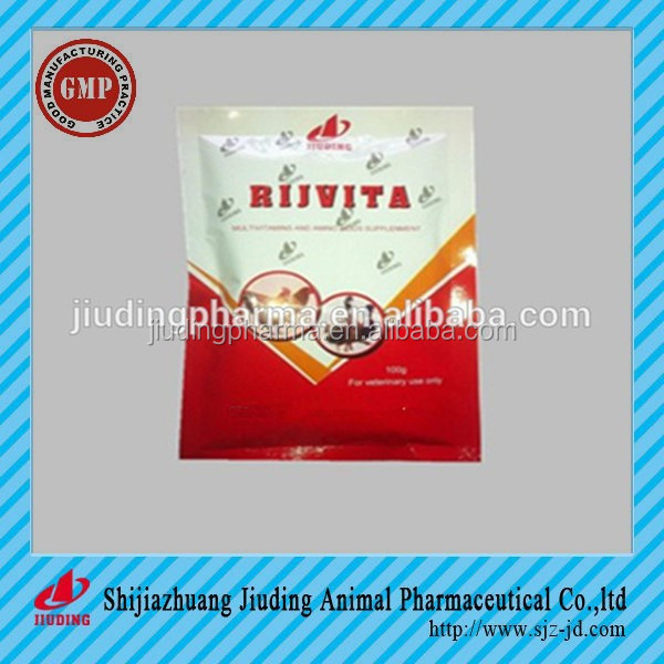 Poultry bird vitamin supplements water soluble powder
