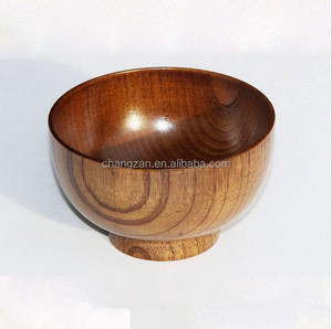 Wooden utensils lacquer soup bowls jujube wood bowls