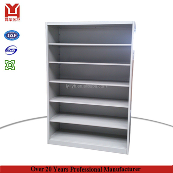modern library bookcase comic book storage cabinet iron open shelf