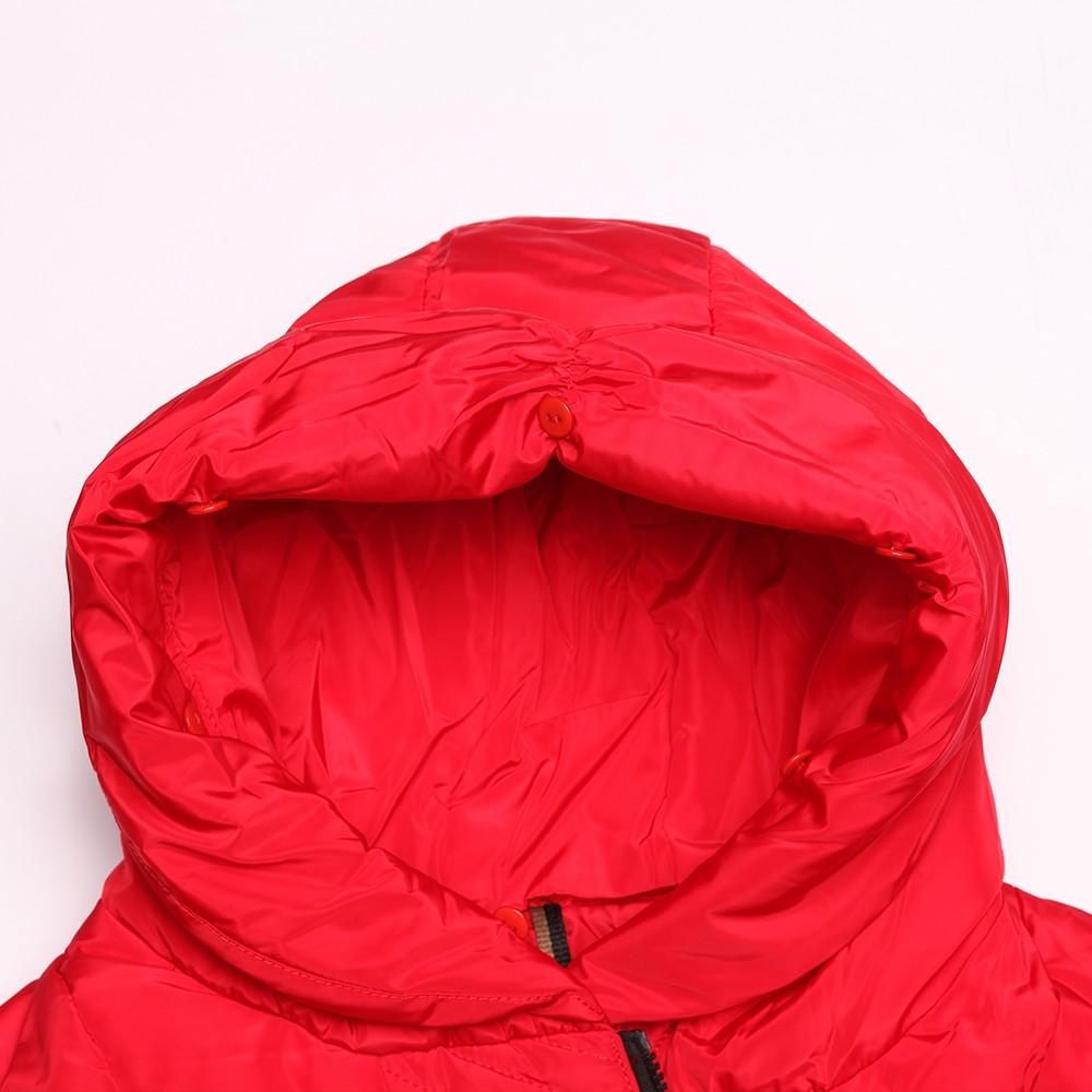 China Supplier Red Jacket Women Long Coat Turkey Down Jacket ...