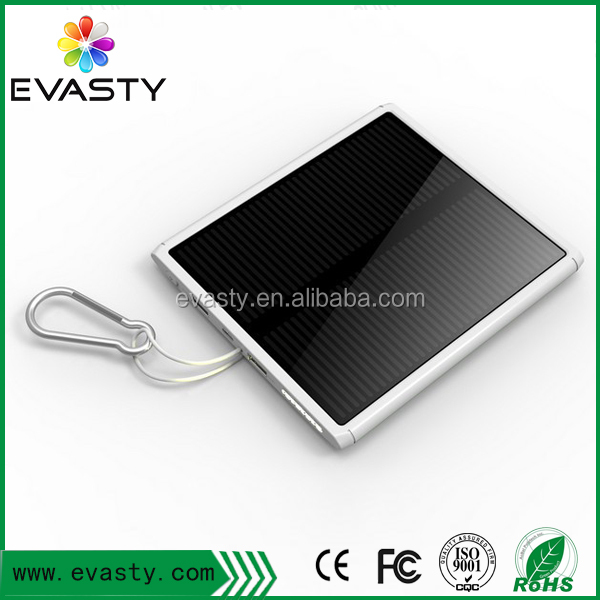 emergency solar charger power bank slim solar power bank for laptop