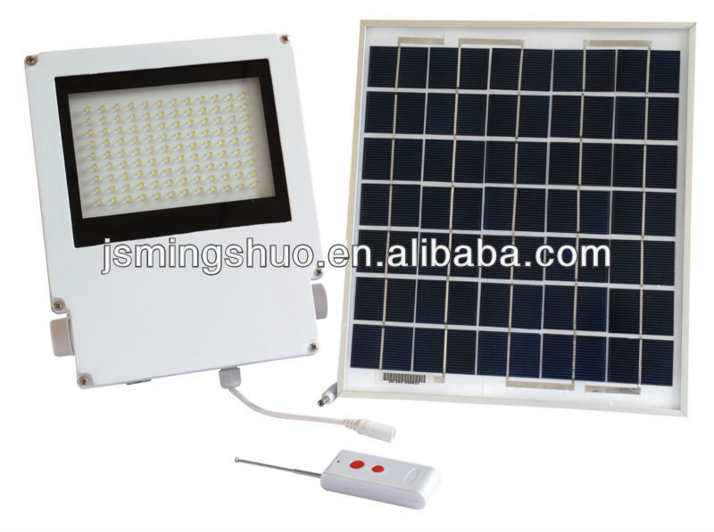 2013 10W Waterproof Wire Lead Solar Panel Light