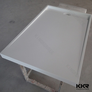 Popular Rectangle Solid Surface Shower Basin/Shower Tray