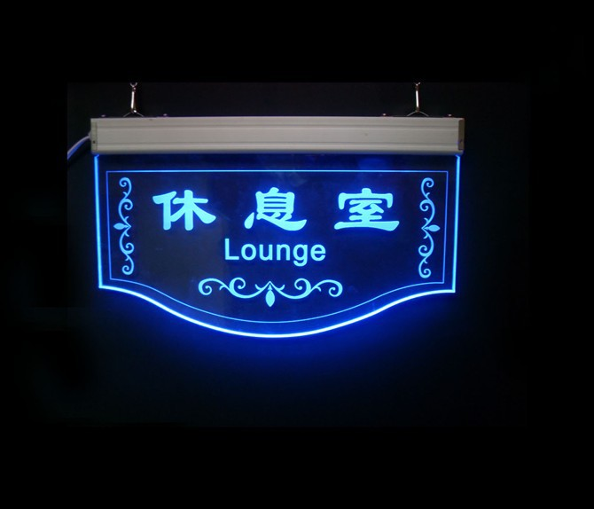 Led Acrylic Sign Rest Room Signs