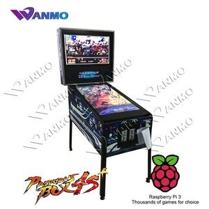 2019 newest 2D/3D flipper virtual pinball video game machine for sale