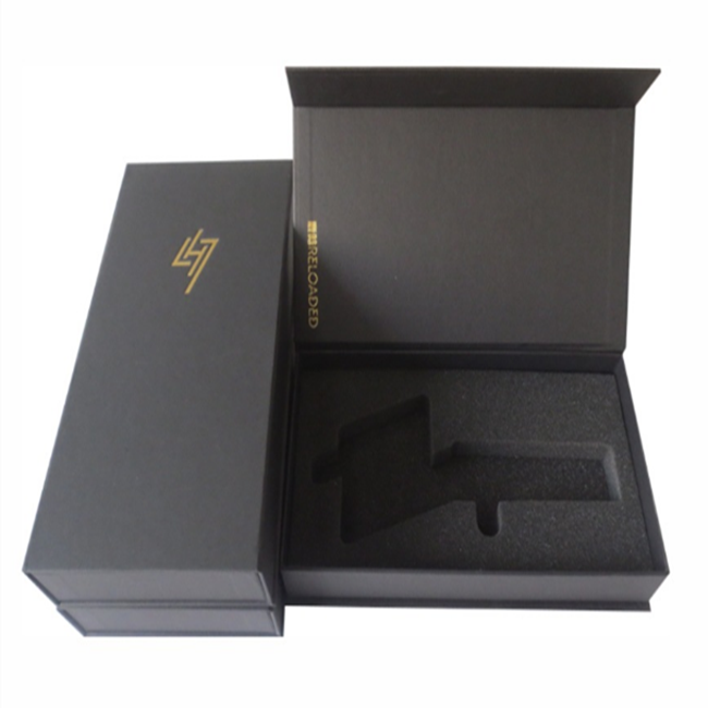 premium custom cardboard set up essential oil olive oil bath oil custom gift packaging boxes  with die cut board platform
