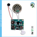 Light activated recordable sound chips voice module for greeting cards