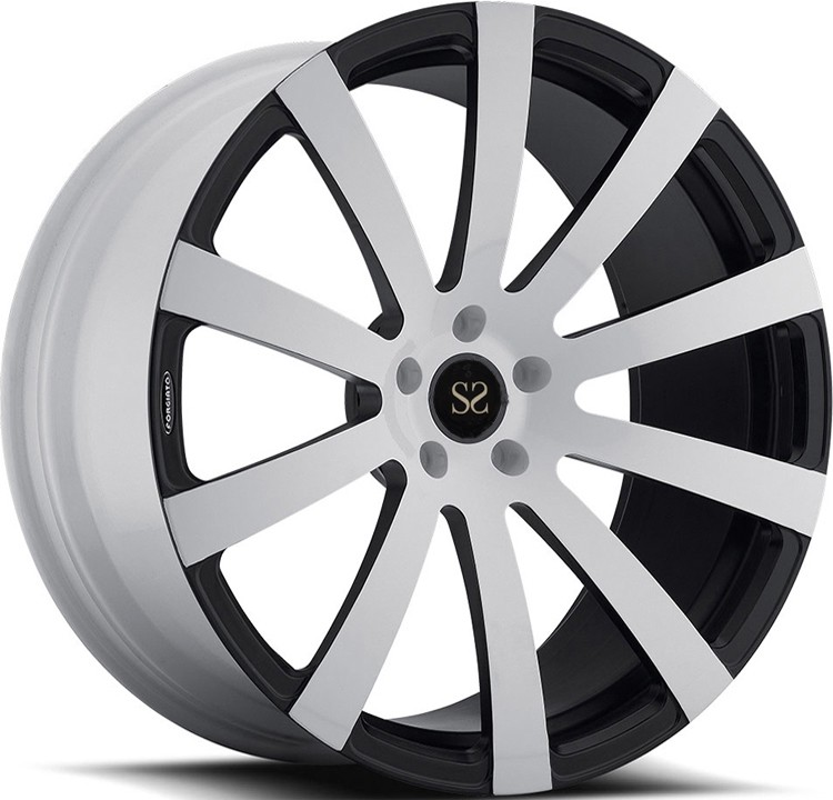 Chrome Black Painted Forged Aluminum 6061 T6 Wheels Rims