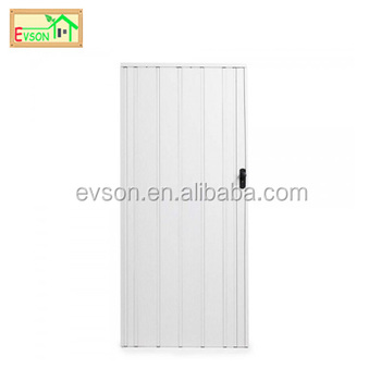 Lockable White Concertina Doors With Glass - Buy Lockable White ...