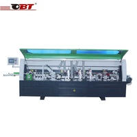 Full automatic woodworking curve edge banding trimming machine for furniture