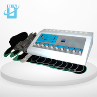 Effective 2 in 1 Russian wave electric muscle stimulation& far infrared EMS slimming machine DRX