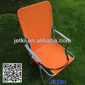 fold up outdoor garden camp high back plastic chair