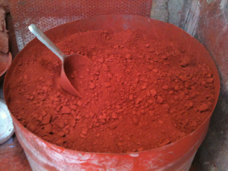 Thermochromic Paint Pigments Red Iron Oxide 130