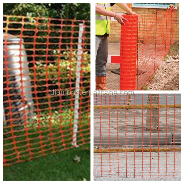 120g Hdpe orange palstic snow safety fence