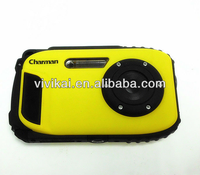 16MP 2.7'' TFT LCD 10 Meters underwater waterproof camera