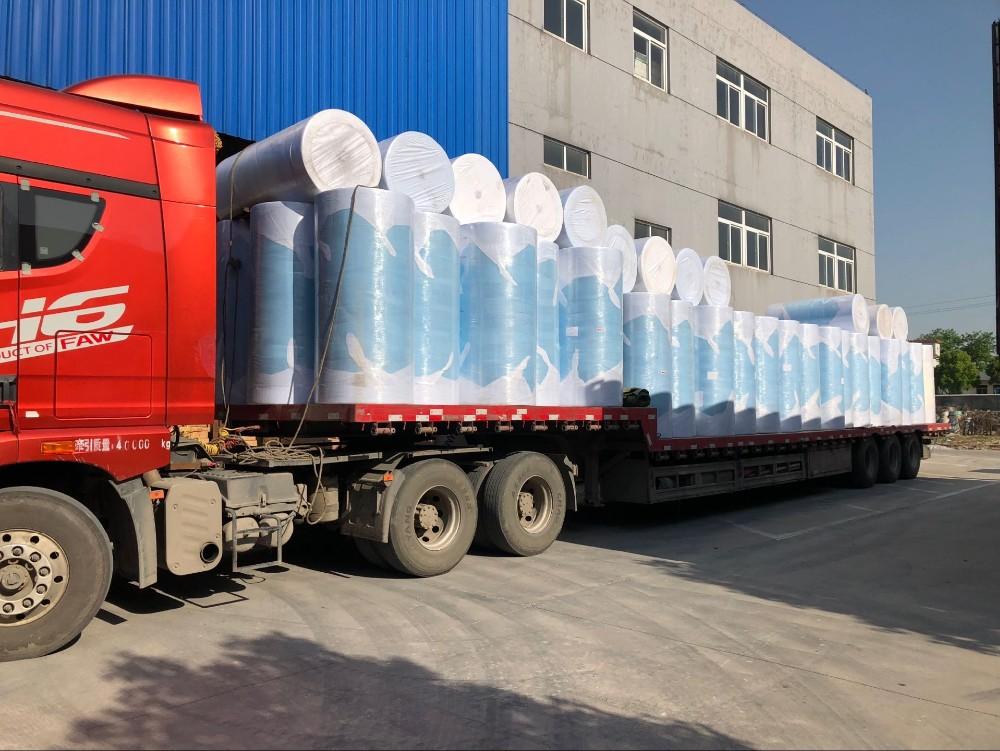 100% polipropilene polvere Pesante rimuovere meltblown clean salviette in un secchio di olio industriale