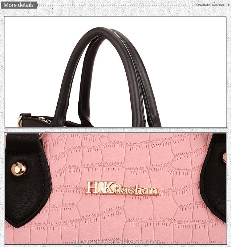 aca406816cf8 2015 Lady fashion designer PU high quality handbag oem women s custom hand bag  wholesale made in