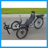 ZZMERCK M-E009 Model Silver Color Adjustable Seat Sport Electric Recumbent Tricycle