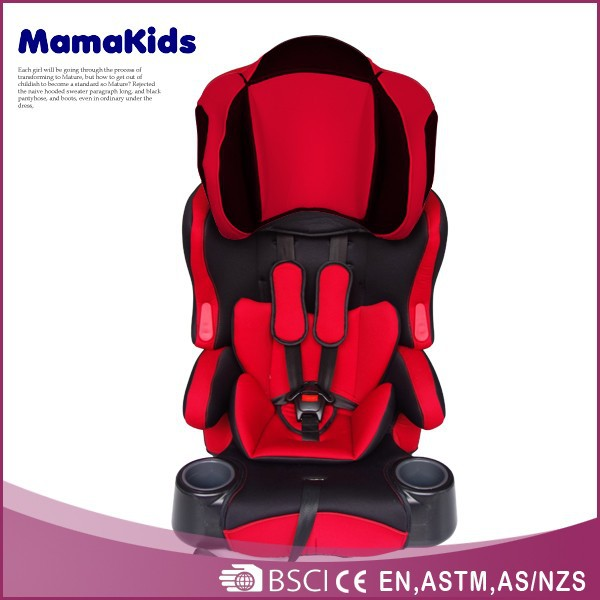 Luxury children car chairs safety material European standard foldable baby seat for car