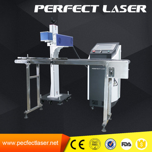 expiration date stamp co2 laser batch coding machine on pu