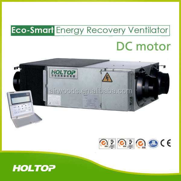 Light commercial use automatic control energy recovery ventilator