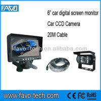 "Digital Panel 6"" Vehicle camera rear view system"