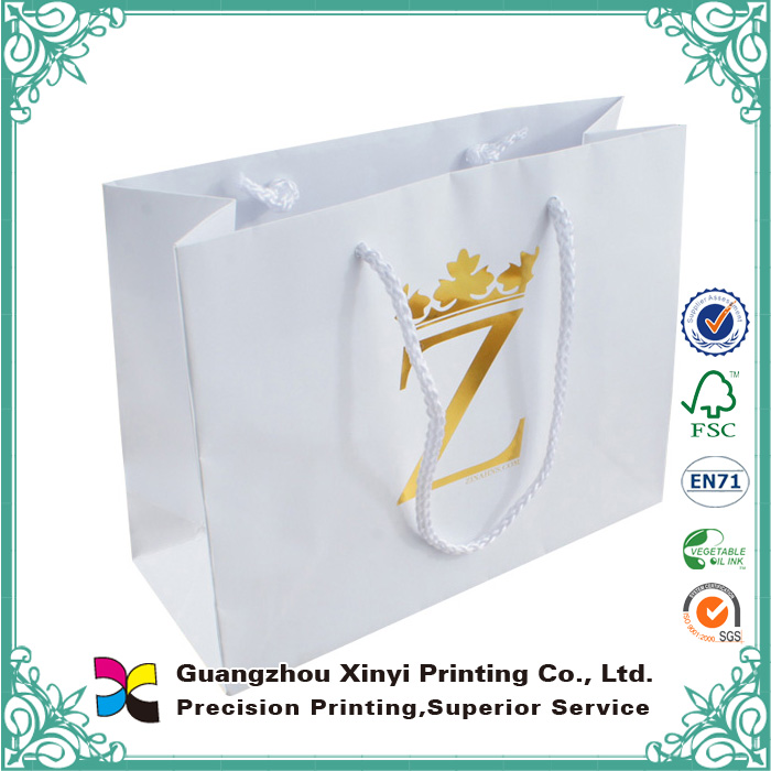Customized clear plastic packaging bags wholesale environmental friendly paper bag